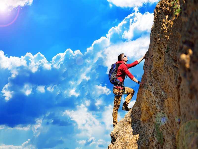 Klettern in Jordanien