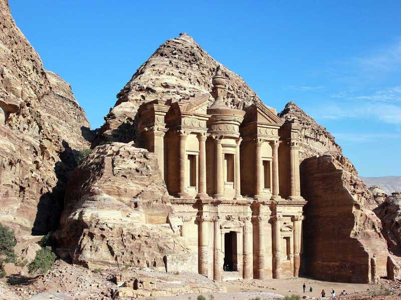 Wüstenschloss Jordanien